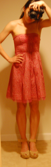 Weekend Outfit : American Eagle Floral Dress in 00