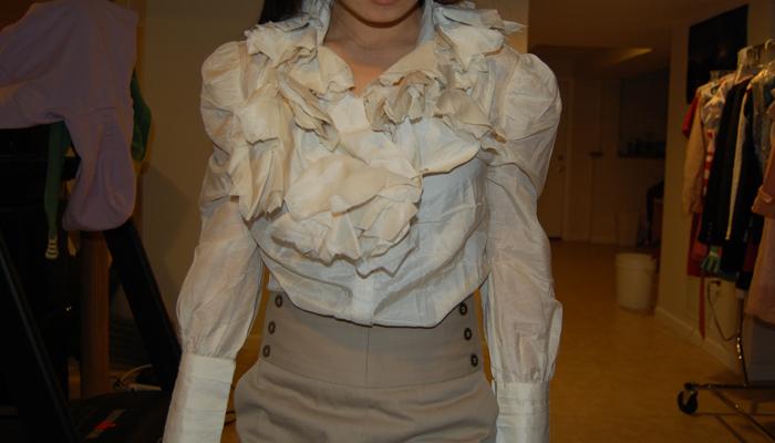 Keep : Nishe Ruffle Neck Long Sleeve Shirt (Long and Whiny Post Ahead)