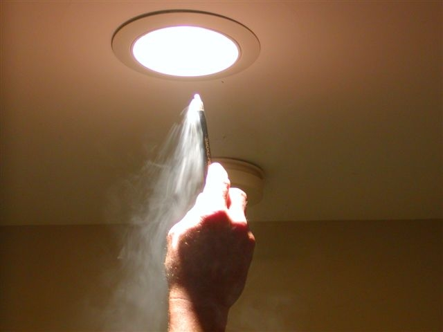 Condensation ceiling light fixtures for Skylights of hawaii llc