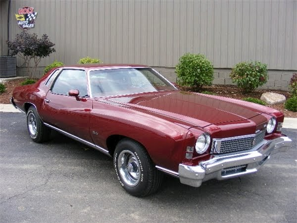 featured cars for sale 1973 chevrolet monte carlo s coupe 454 classic car for sale click here. Black Bedroom Furniture Sets. Home Design Ideas
