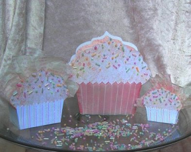 Copious Amounts Of Cupcake Cake Templates Projects Bo Cards