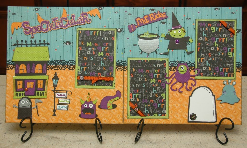 Spooktacular Layout Kit