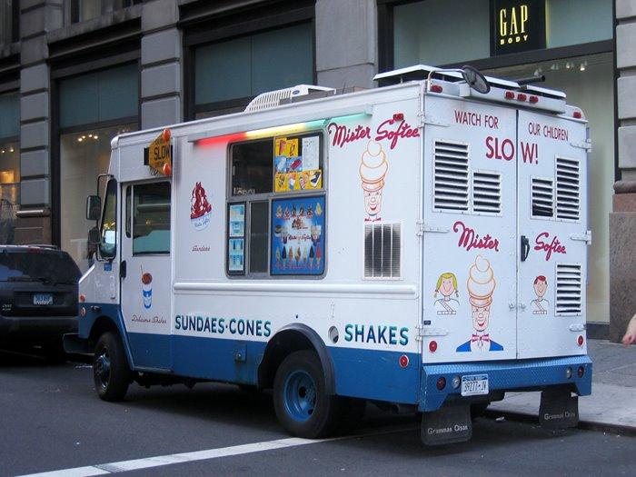 Ice Cream Truck Mr Softee Two Blueprint R...