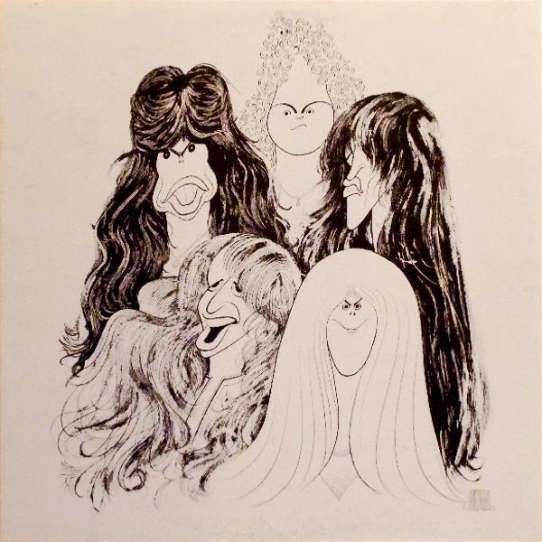 Vinyl Lp Label Scans Aerosmith Draw The Line