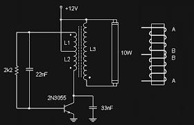 koleksi skema rangkaian artikel elektronika rangkaian lampu neon tl 12 volt skema rangkaian blogger