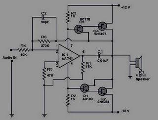 12 Volt Hifi Power Amplifier | Home Elektron