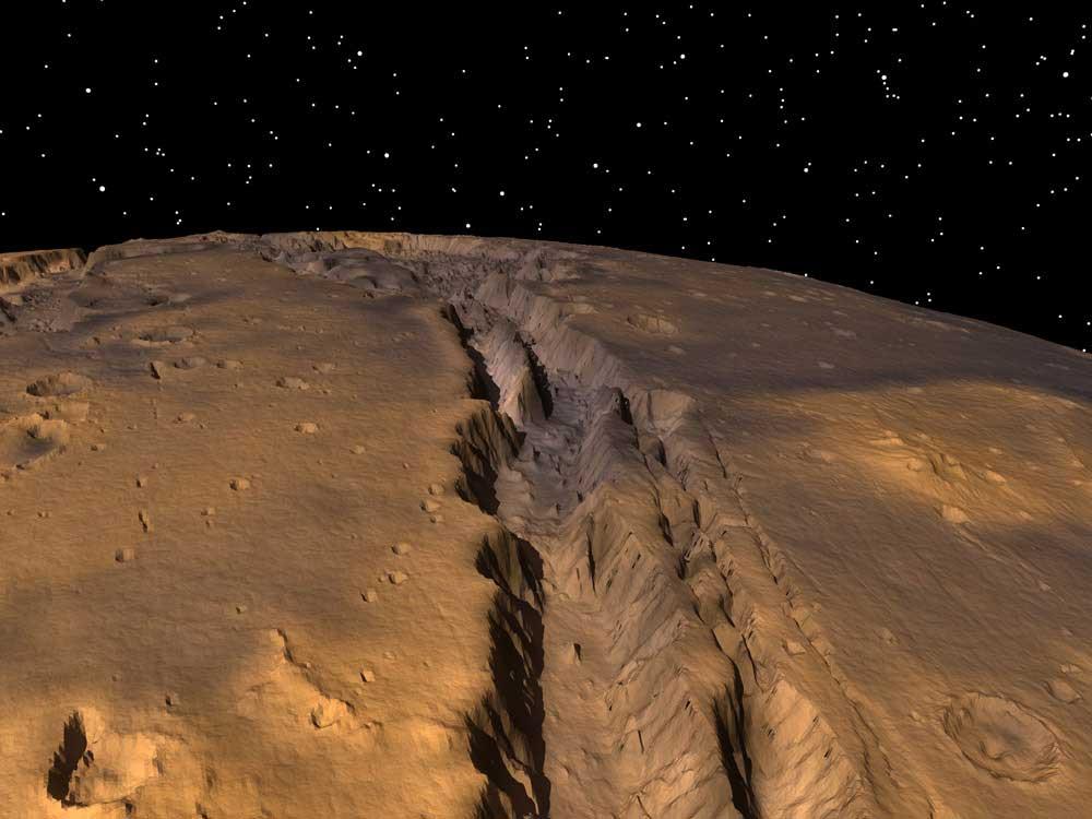 Grand Canyon on Mars | Astronomy