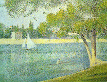 The Seine at La Grande Jatte
