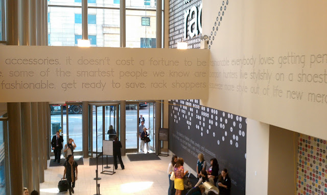 A Little Ditty: Opening today, mag mile nordstrom rack