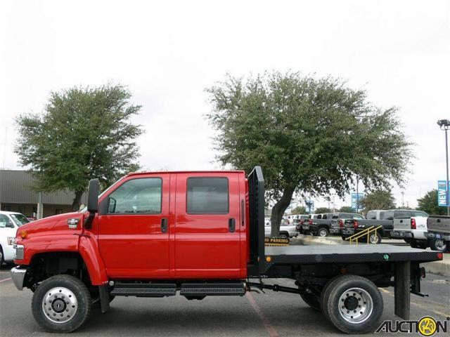 National Crane 2007 Red C4500 Kodiak 4x4 4wd Auto Diesel