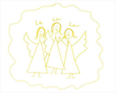 angel choir sings in celebration of proper jean fitting
