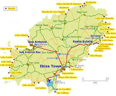 Insel Menorca Karte.Mallorca Menorca Co Strande Auf Ibiza