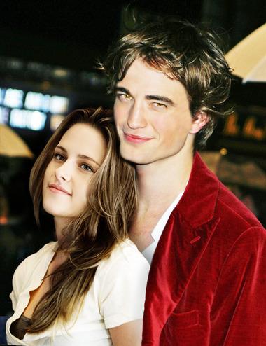751b9245596d7 O romance entre Bella e Edward saiu das telonas e foi diretamente para a  vida real.