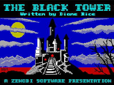 black tower zenobi zx spectrum loading screen