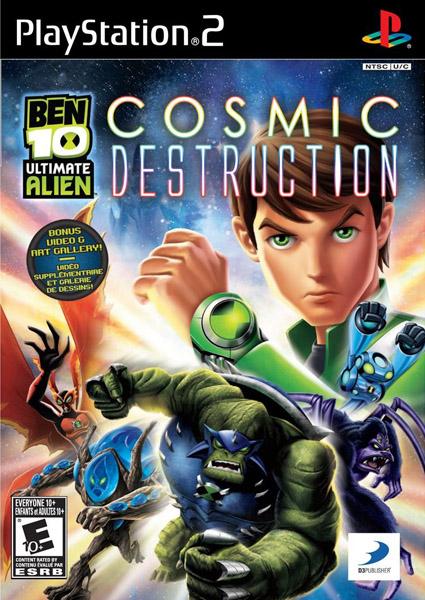 Los Mejores Juegos De Ps2 Ben 10 Ultimate Alien Cosmic Destruccion