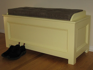 Handcrafted Storage Bench/Chest, Westchester, NY