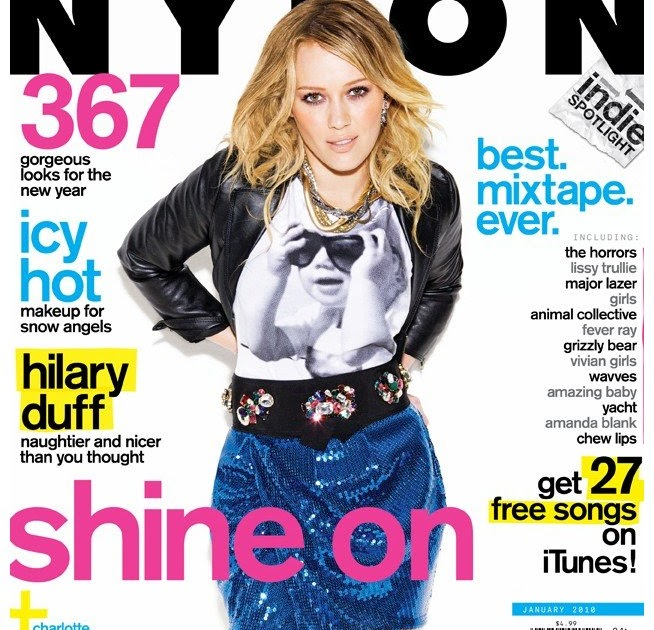 Hilary Duff Nylon Tv 70
