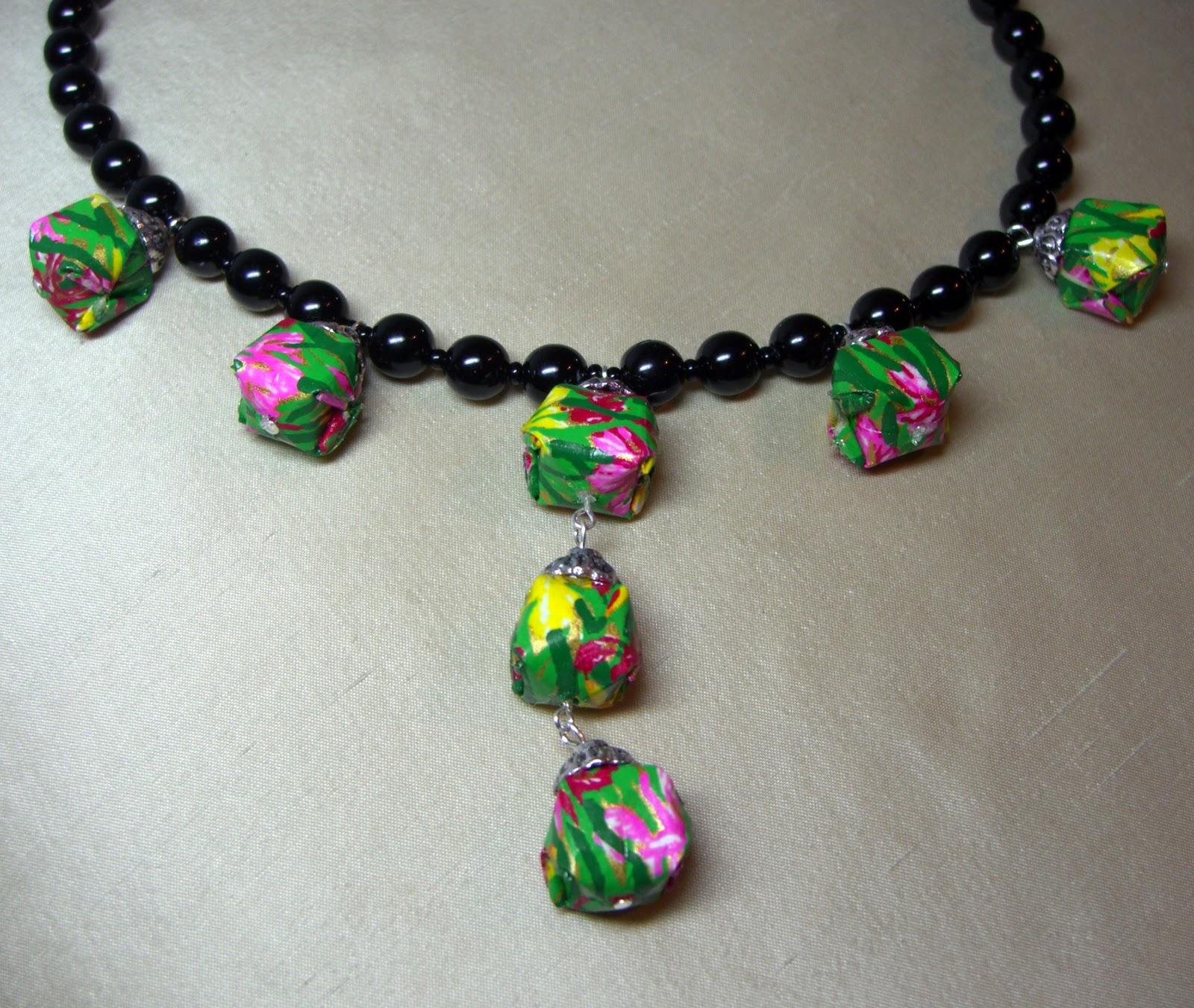 Kitty+Stitch: Origami Jewellery - photo#29