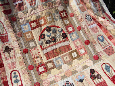 Pocket Of Posies Quilt Pattern.Quilt It And Dotty Www Quilt It Nl Pockets Of Posies Dag