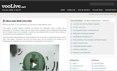 Os presento www.voolive.net