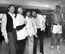 MUHAMMAD ALI NOCAUTEIA THE BEATLES