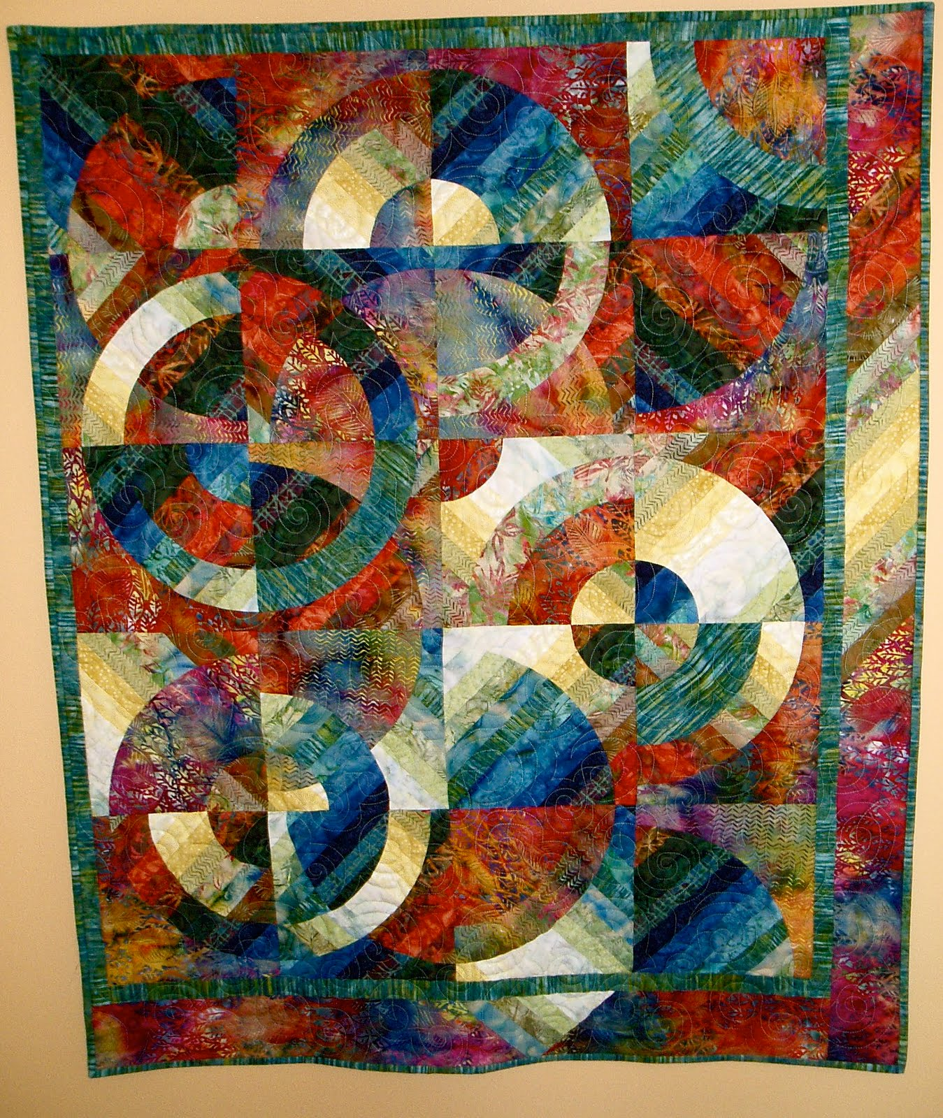 Modern Quilt Relish Circle Obsession