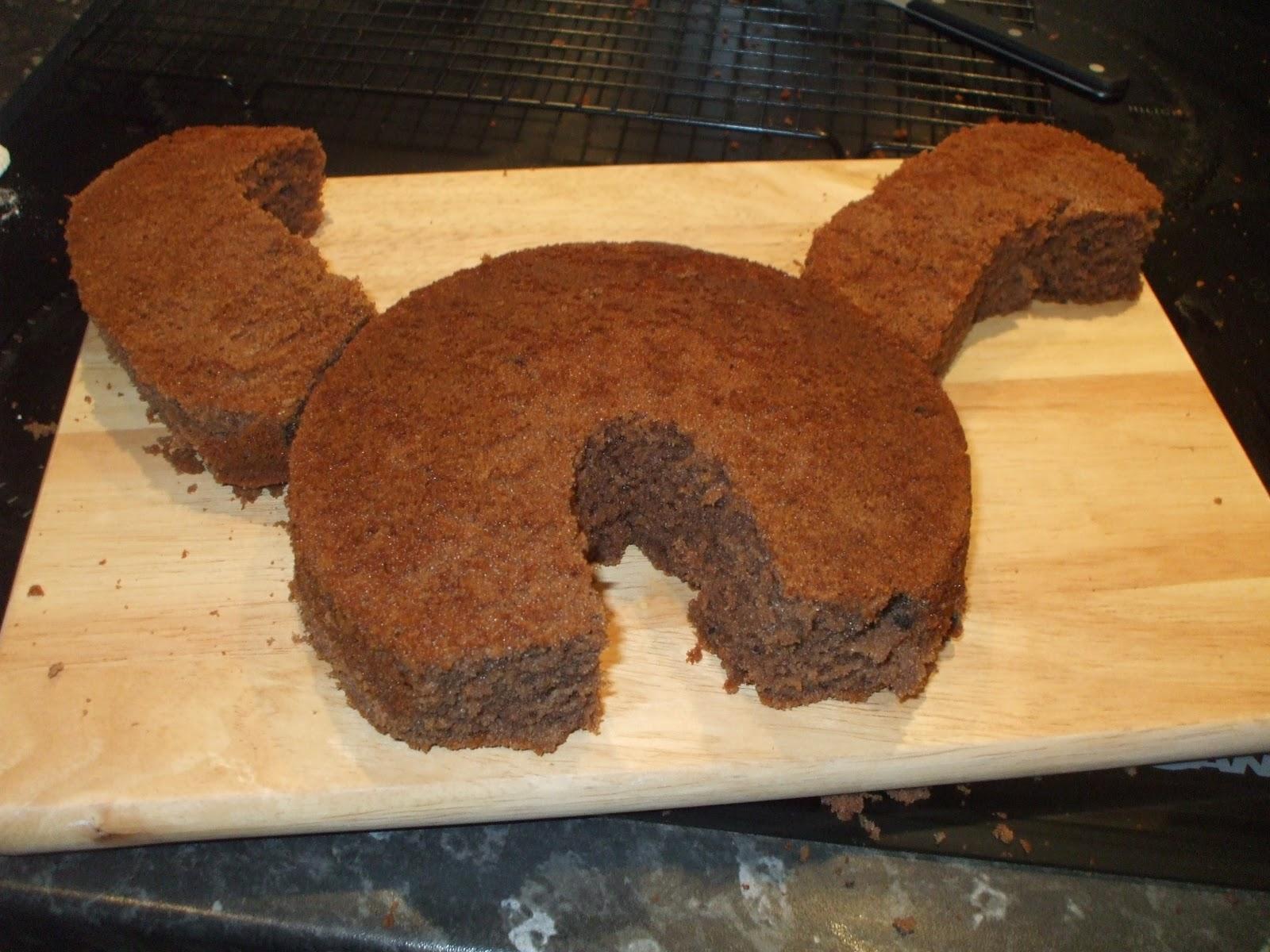 How To Make Dinosaur Head Cake