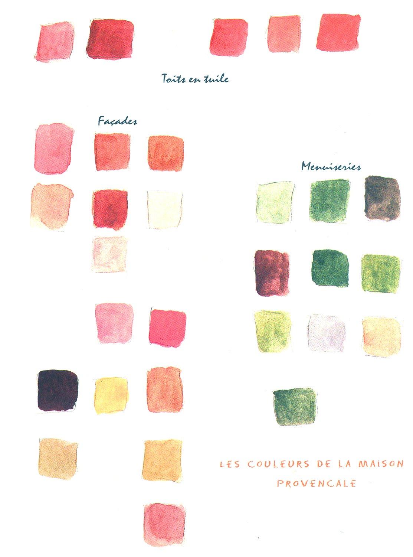 Couleurs Facades En Provence chic provence *: les couleurs du soleil & lavender madeleines