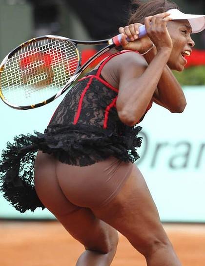 Venus Williams Butt 49