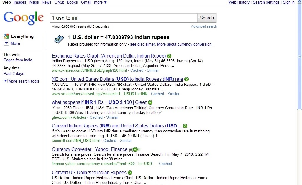 1us dollar is equal to how many rupees / T mobile phone top up