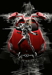 Mercedes-Benz Ad by Nick Knight & Gareth Pugh