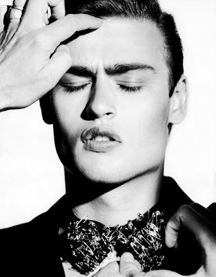 Douglas Booth by Horst Diekgerdes | Star Man