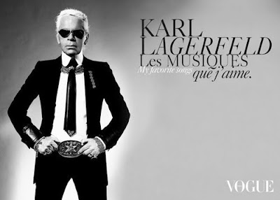 Karl Lagerfeld Is A Golden God!