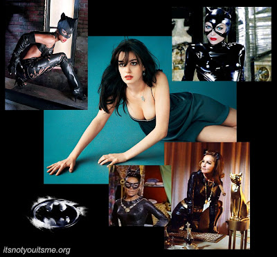 Cat Woman Scratches Anne Hathaway