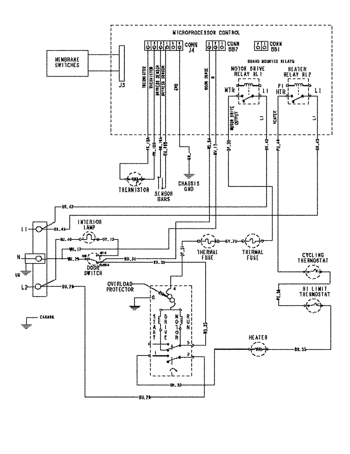 Appliance 911 Repair and Help Forum: MDE5500AYQ Wiring Diagram