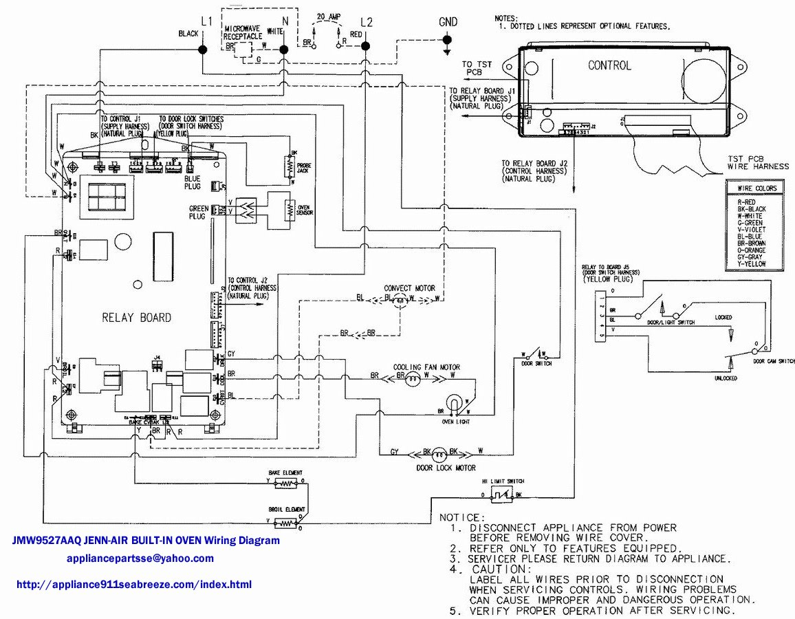 Oven Thermostat Wiring Diagram http://www.justanswer.com