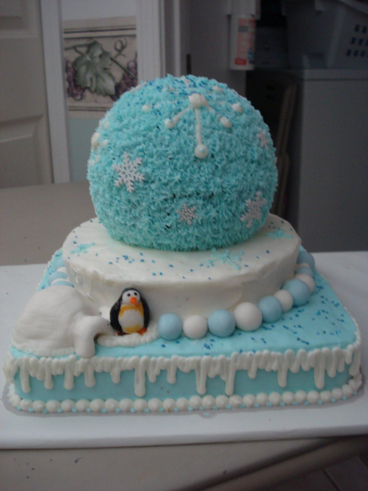 Stettie Cakes Snowglobe Cake