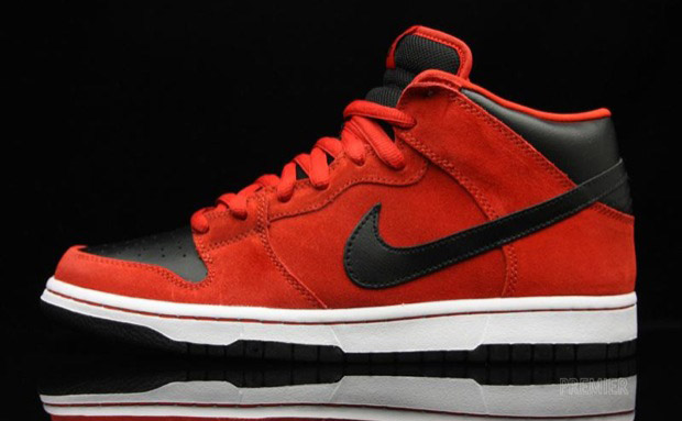 buy popular 85072 22a95 nike sb dunk mid sport red