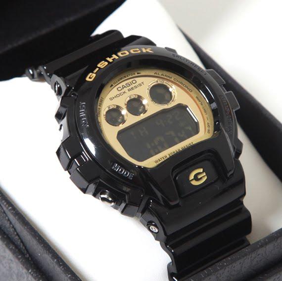 THESUPERDUPERDOPELIFE: Casio G-Shock – DW-6900 Black/Gold
