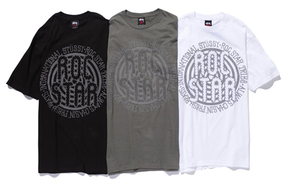 b412476ab21 ... both the ROC STAR aesthetics and the spirit of the Stussy Tribe. The  collection had just dropped over the weekend and are now available at Stussy .