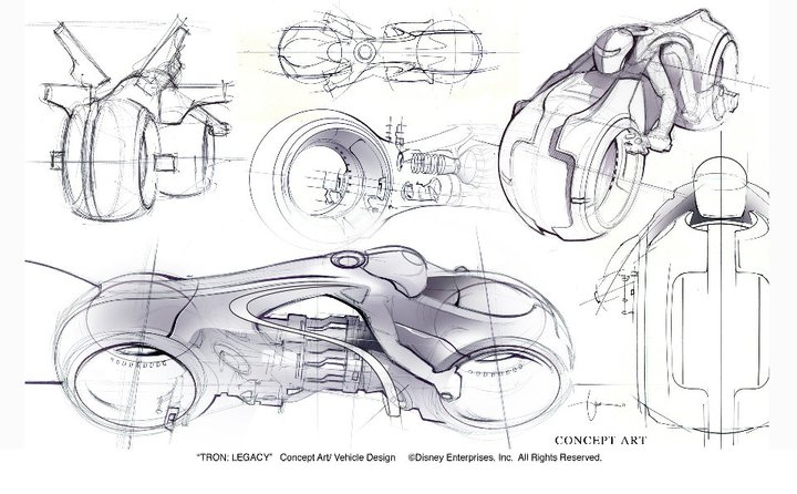 TRON: Legacy Starring Daniel Simon, Designer