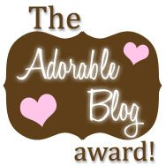 The Adorable Blog Award.