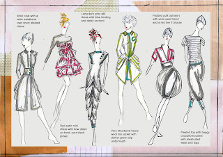 Alex Fannon Freelance Fashion Designer Design Development Boards