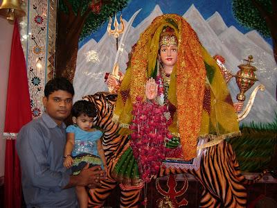 innittle: Navaratri Pictures from Hyderabad, Sindh , PAKISTAN
