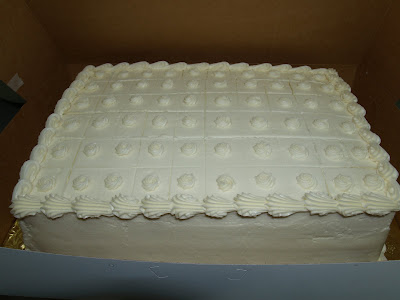 Becky S Sweets Scored Sheet Cakes