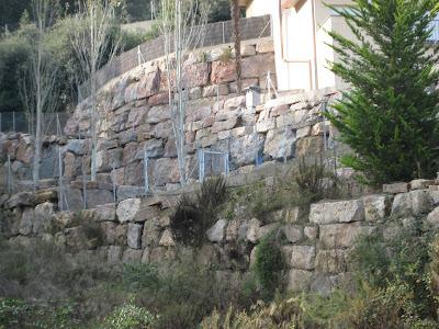 B y r excavaciones s l muros de piedra natural 5 - Muro de piedra natural ...