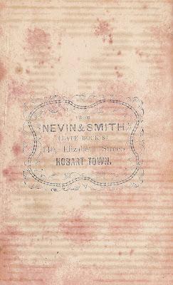 Nevin & Smith verso full length carte of Elizabeth Day