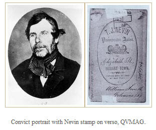 Nevin photo of convict Smith QVMAG