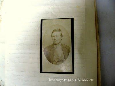 Nevin's booking photo of Henry Stock 1884
