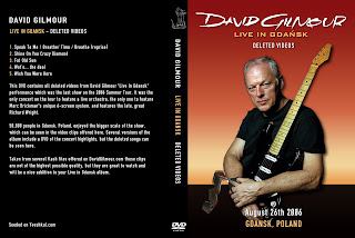 the rock remains the same david gilmour 2006 08 26 live in gdansk deleted songs. Black Bedroom Furniture Sets. Home Design Ideas